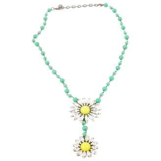 Dannijo Jada necklace - Green Y815I