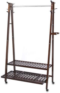 Bed Bath & Beyond Solid Wood A-Frame Garment Rack