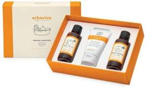 Erbaviva Mommy Essentials Stretch Mark Oil, Stretch Mark Cream and back Rub Oil Gift Set- 65.00 Value