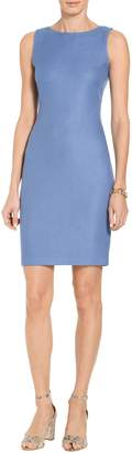 St. John Sarga Knit Bateau Neck Dress