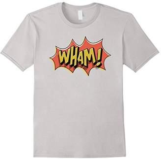 WHAM! Vintage Superhero Comic Book Sound Effect T-Shirts