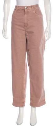 Brunello Cucinelli High-Rise Wide-Leg Jeans w/ Tags