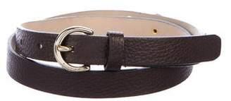 MICHAEL Michael Kors Embellished Leather Belt
