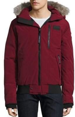 Canada Goose Borden Fur-Trimmed Puffer Jacket