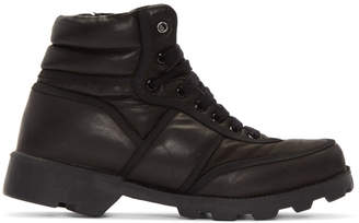 Christian Peau Black CP MT Zip High-Top Sneakers