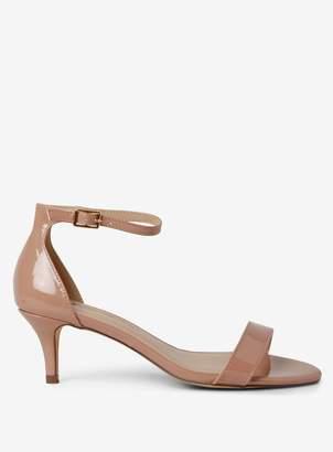 dbe436c32663 Dorothy Perkins Womens Nude  Sunset  Kitten Heel Sandals