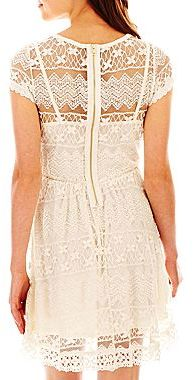 JCPenney Allover Lace Dress