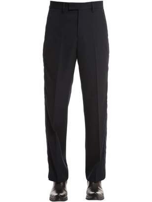 Our Legacy 24cm Wool Crepe Pants W/ Side Bands