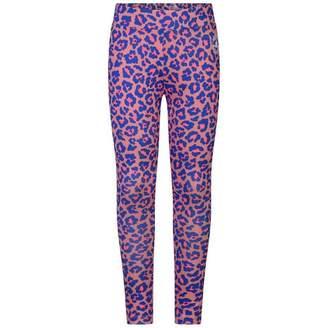 Converse ConverseGirls Pink Sunblush Leopard Print Leggings