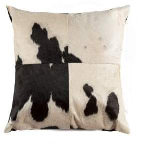 Torino Quattro Patchwork Dyed Cow Hair 18x18 Pillow