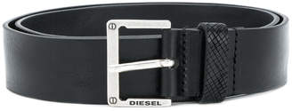 Diesel square buckle belt
