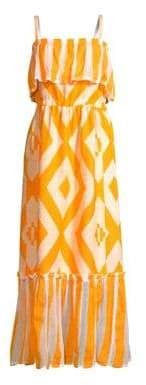Lemlem Biruhi Geometric Maxi Dress