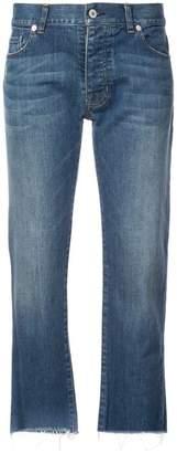 Nili Lotan boyfriend cropped jeans