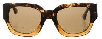 Balenciaga Balenciaga Marbled Oversize Sunglasses