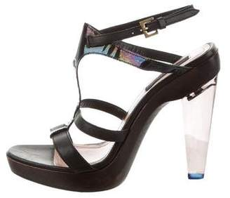 Derek Lam Multistrap Leather Sandals