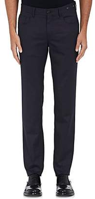 PT05 Men's Wool-Blend Super-Slim 5-Pocket Jeans - Navy
