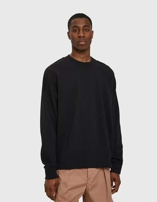 Lemaire Sweatshirt in Black