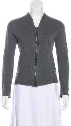 Maison Margiela Long Sleeve Zip-Up Cardigan