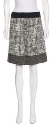 Max Mara Weekend Linen-Blend Skirt