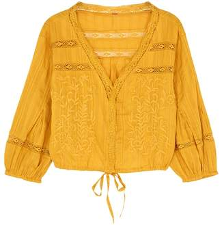 a3ff0db801 at Harvey Nichols · Free People Follow Your Heart Cotton Top
