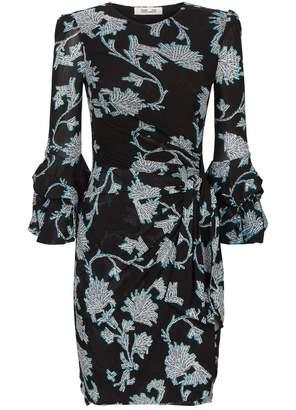 Diane von Furstenberg Faridah Frill Dress