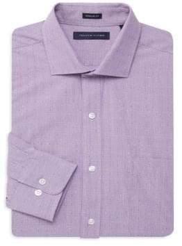 Tommy Hilfiger Regular Fit Pindot Dress Shirt