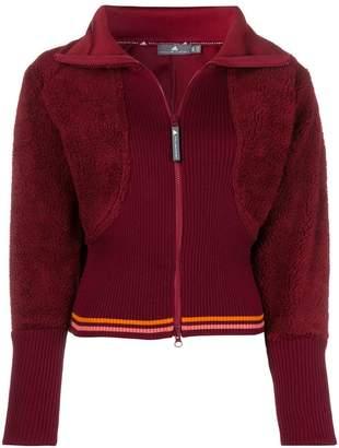 adidas by Stella McCartney zipped fitted sweatshirt