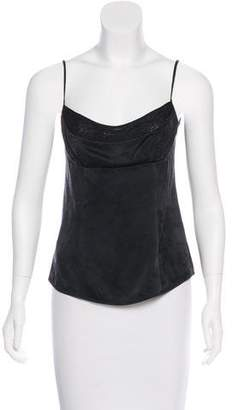 Narciso Rodriguez Silk Embellished Top