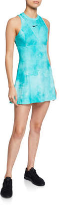 Nike Maria High-Neck Printed Tennis Dress
