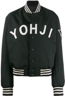 Y-3 logo varsity jacket