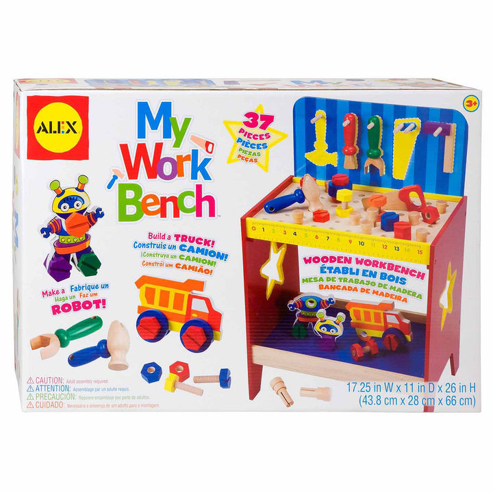 Alex ALEX TOYS Alex Toys My Work Bench 14-pc. Toy Workbench
