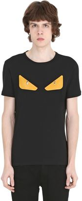 Monster Patches Cotton Jersey T-Shirt $450 thestylecure.com