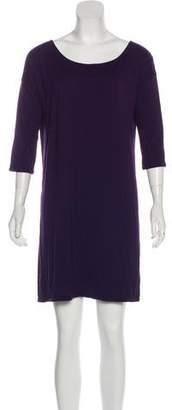 Calypso Three-Quarter Sleeve Mini Dress