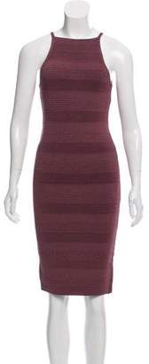 Ronny Kobo Textured Bodycon Dress w/ Tags