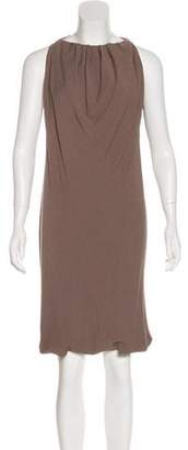 Rick Owens Paneled Sleeveless Midi Dress