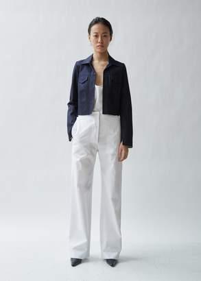 Gabriela Coll Garments Cropped Raw Denim Jacket