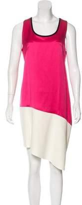 Cédric Charlier Silk-Blend Dress