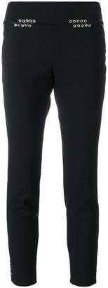 Alexander McQueen Whip-stitched fitted trousers