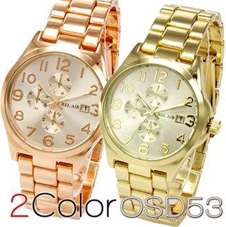 Bel Air [ベルエア 腕時計 OSD53 (ゴールド) 華やか エレガント 可愛い
