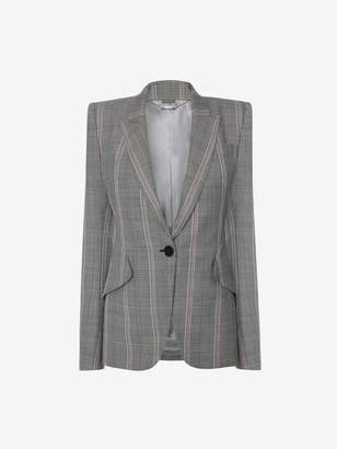 Alexander McQueen Prince of Wales Tailored Jacket