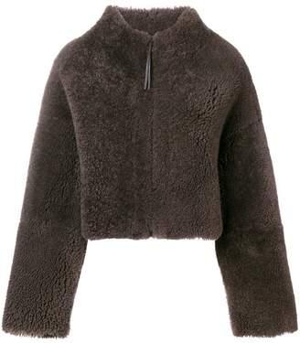 Fabiana Filippi cropped shearling jacket
