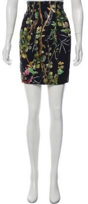Philosophy di Lorenzo Serafini Printed Mini Skirt w/ Tags