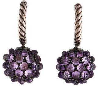 David Yurman Amethyst Osetra Drop Earrings