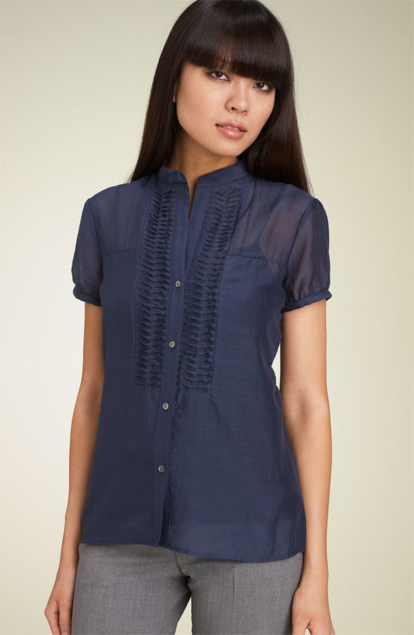 Theory 'Iolyn  Pavilion' Blouse
