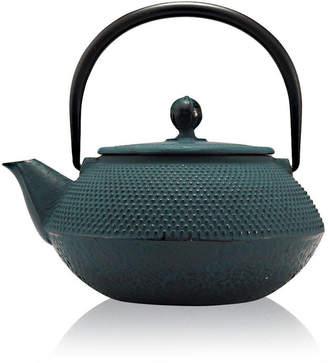 The Exotic Teapot Blue Tenshi Cast Iron Teapot Japanese Style