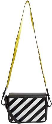Off-White Off White Diagonal Stripe Shoulder Bag