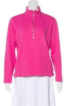 Lauren Ralph Lauren Zip-Up Pullover Sweater