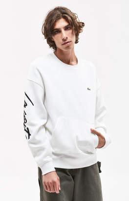 Lacoste Signature Crew Neck Sweatshirt
