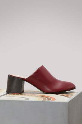 Acne Studios Sil high-heeled mules