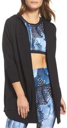 Beyond Yoga Love & Fleece Split-Back Hooded Cardigan